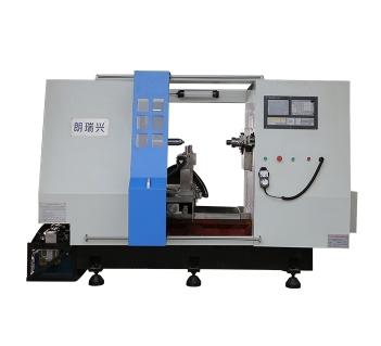 全自动旋压机利用离心升压作用和降速扩压作用