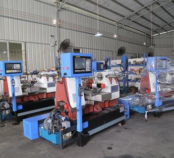 数控旋压机可提高生产效率